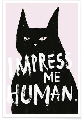 Impress Me Poster