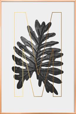 Plants M Poster in Aluminium Frame