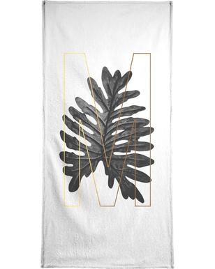 Plants M Bath Towel
