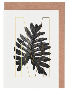Plants M Greeting Card Set