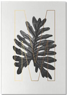 Plants M -Notizblock