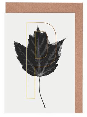 Plants P Greeting Card Set