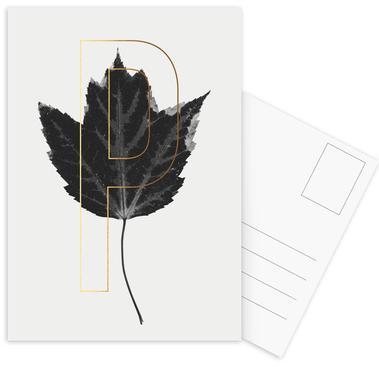 Plants P Postcard Set