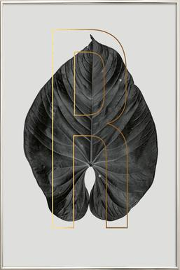 Plants R Poster in Aluminium Frame