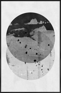 GEOMETRY 3 - Poster in Standard Frame