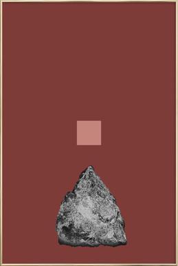 Anima -Poster im Alurahmen