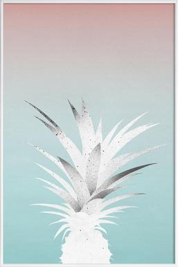 Ananas Comosus - Poster in kunststof lijst
