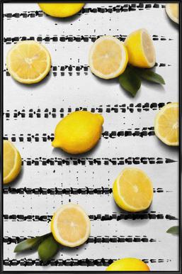 Fruit 4 ingelijste poster