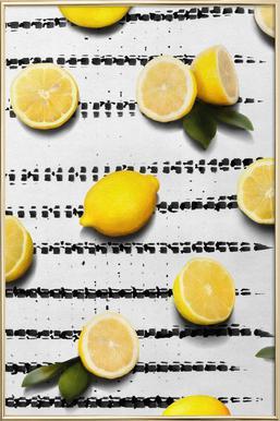 Fruit 4 poster in aluminium lijst