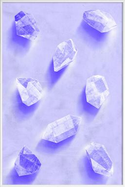 Stones - Poster in Standard Frame