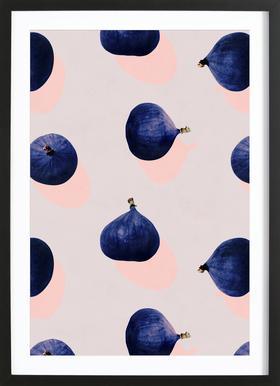 Fruit 16 ingelijste print
