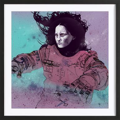 Astronaut 3 Framed Print