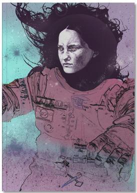 Astronaut 3 Notebook