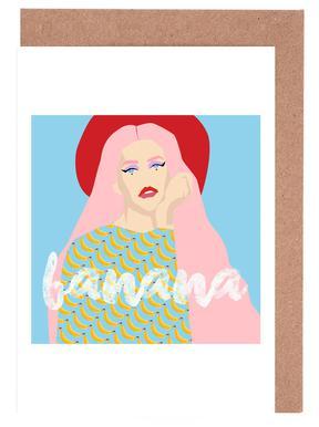 Banana cartes de vœux