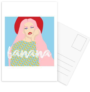Banana cartes postales