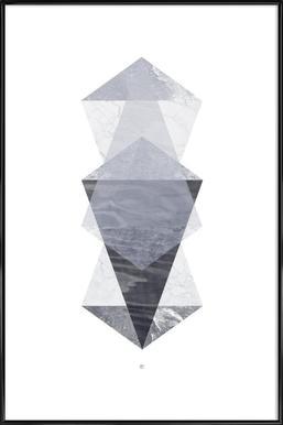 Translucent no. 05 ingelijste poster