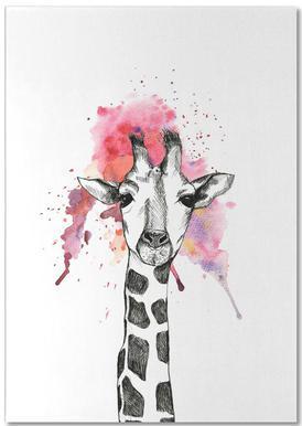 Giraffe Notepad