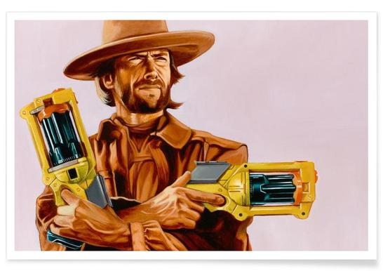 You Gonna Pull Those Pistols Or Whistle Dixie Poster