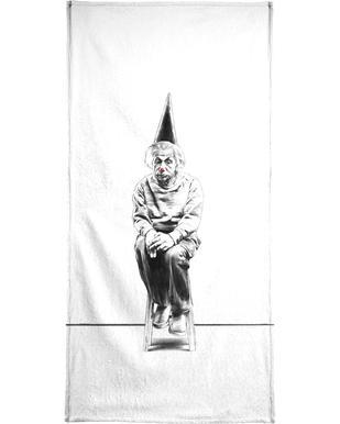 Einstein serviette de bain