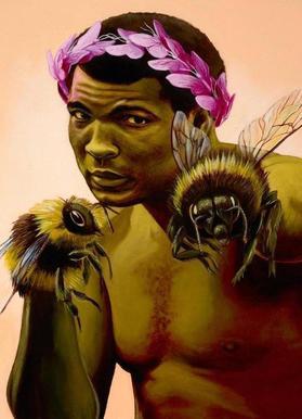 Sting Like a Bee Canvas Print