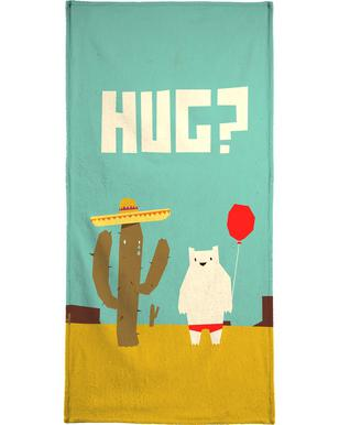 Hug Beach Towel