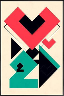 Love 2 play ingelijste poster