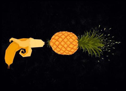 Who shot the pineapple