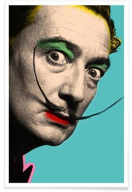 Salvador Dali Plakat Juniqe