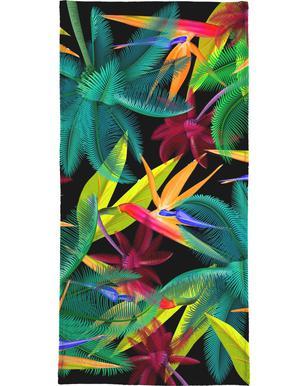 Bird of paradise serviette de plage