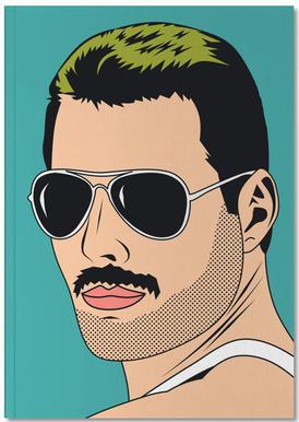 Freddie Mercury Notesbog