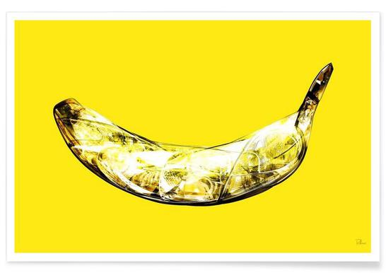 Lambda-Banana - Premium Poster