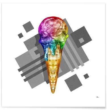 Suck My Rainbow Poster