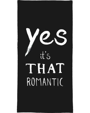 Yes It´s That Romantic Black