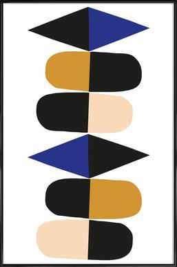 Reflection - Poster in Standard Frame