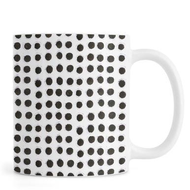 Ink Dots -Tasse