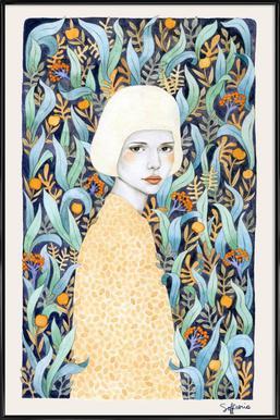Emilia ingelijste poster