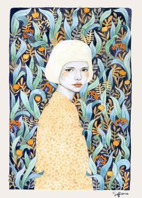 Emilia canvas doek