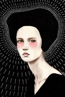 Freda Aluminium Print