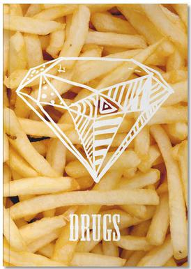 Diamonds and French Fries Notebook