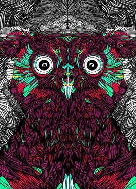 Owl you need is love -Leinwandbild
