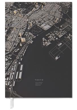 Tokyo City Map Personal Planner