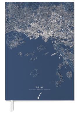Oslo Color City Map -Terminplaner