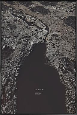 Zürich City Map