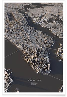 Manhattan III -Poster