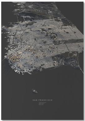 San Francisco II -Notizblock
