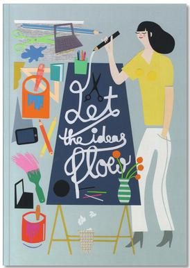 Let The Ideas Flow Notebook