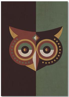 Owl Woods Notepad