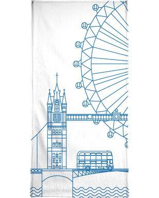 London -Handtuch