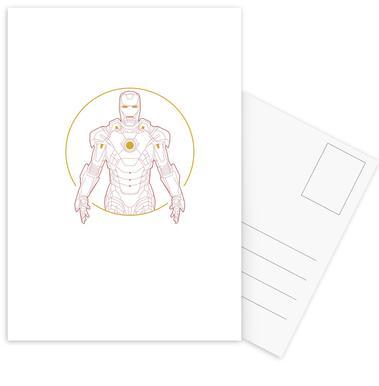 Iron Man -Postkartenset