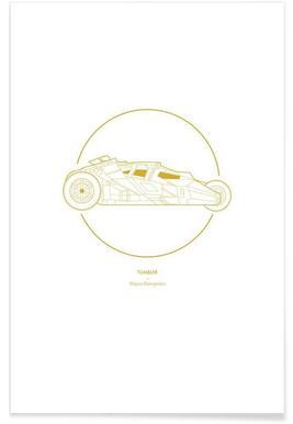 Tumbler – minimalistisch -Poster